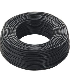 Black Cable 6mm