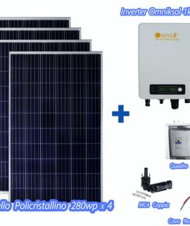 Fotovoltaiche Kit 1kw