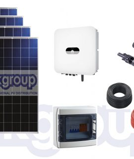 Kit Fotovoltaico 12 Pannelli 280 WP Ok Solar-Inverter Huawei SUN2000-3KTL-L1