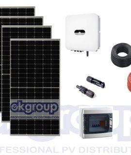 Kit Fotovoltaico 9  Pannelli 360 WP Longi-Inverter Huawei SUN2000-3KTL-L1